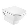 Roca Aire Wall Hung Toilet + Soft Close Seat profile small image view 1