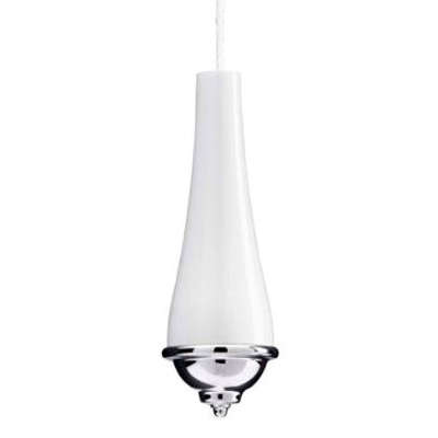 Croydex Classic White/Chrome Light Pull - AJ177641 Large Image