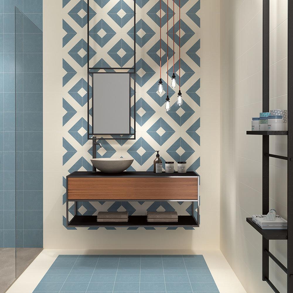 Akara Geo Wall and Floor Tiles | Best Flooring for Bathrooms
