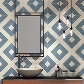 Akara Geo Wall and Floor Tiles - 200 x 200mm