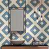 Akara Geo Wall and Floor Tiles - 200 x 200mm Small Image