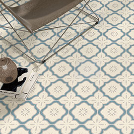 Akara Imperial Pattered Wall and Floor Tiles - 200 x 200mm