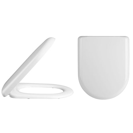 Alaska Luxury D-Shaped Soft Close Top-Fixing Toilet Seat