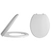 Alaska Luxury Round Soft Close Toilet Seat - AL06 profile small image view 1