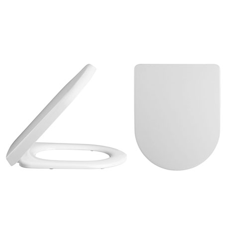 Alaska Luxury D Shaped Toilet Seat Square Edge - AL07