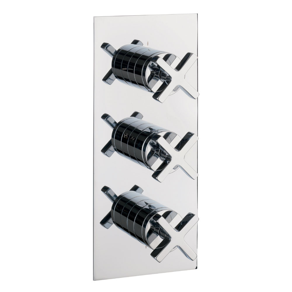 Crosswater - Alvero Thermostatic Shower Valve with 3 Way Diverter - AL3000RC profile large image view 1