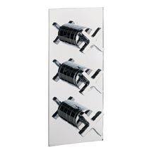 Crosswater - Alvero Triple Concealed Thermostatic Shower Valve - AL2000RC Medium Image