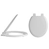 Alaska Traditional Toilet Seat with Plastic Hinges - AL33 profile small image view 1