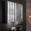 Crosswater Allure 900 x 700mm Illuminated Mirrored Cabinet - AL9070AL profile small image view 1