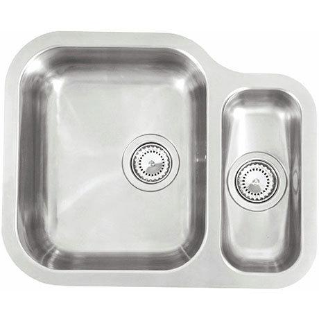 Reginox Alaska 1.5 Bowl Stainless Steel Undermount Kitchen Sink