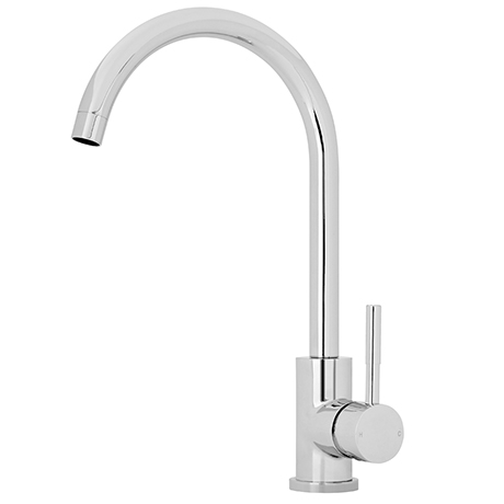 Alberta Modern Stainless Steel Kitchen Mixer Tap
