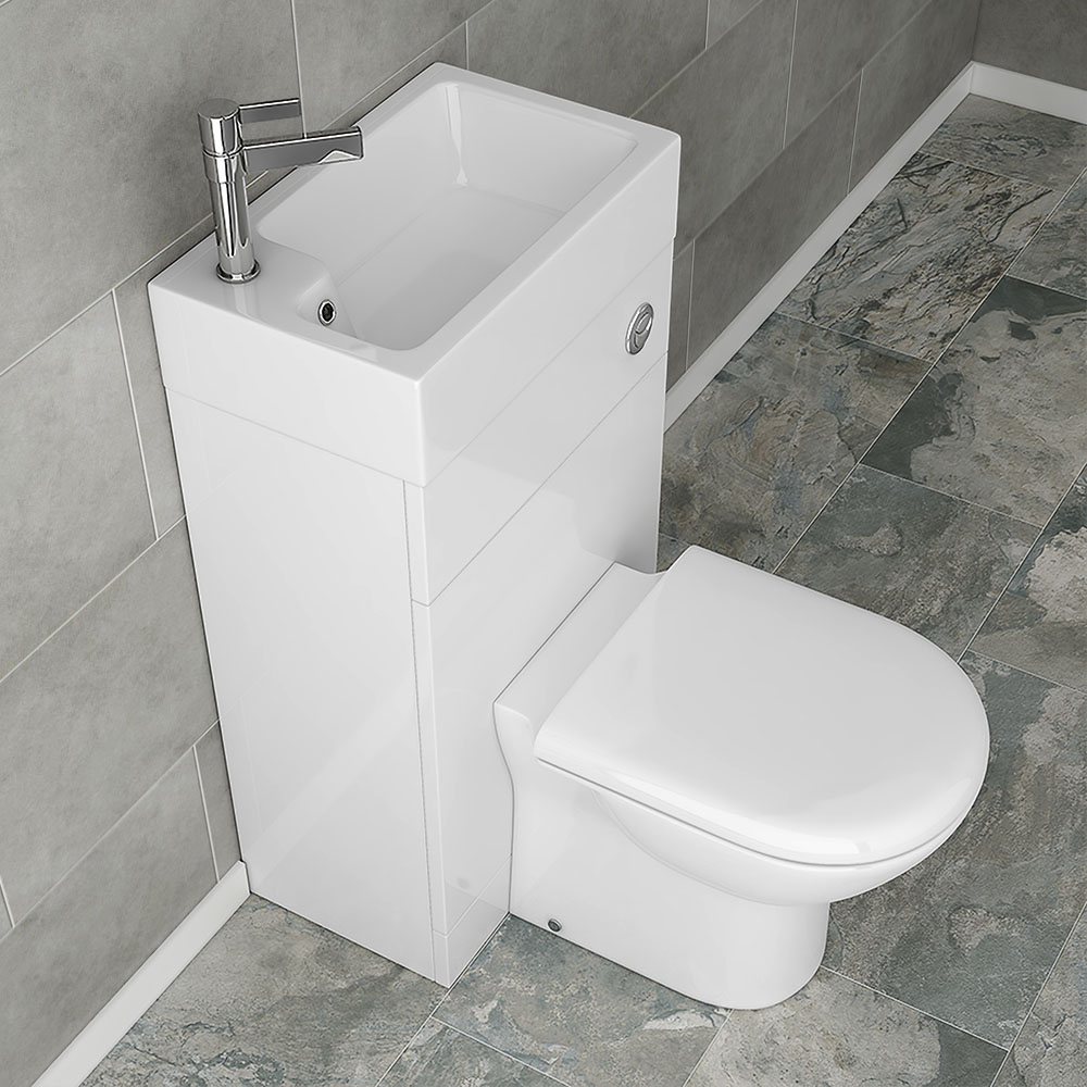 Alaska Combined Two-In-One Wash Basin & Toilet