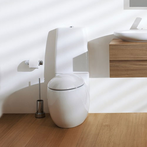 Laufen - Ilbagno Alessi One Close Coupled Toilet - ALESWC1 profile large image view 2