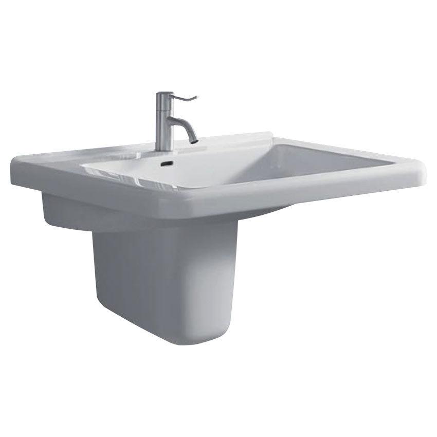 Twyford All 1TH Basin & Semi Pedestal