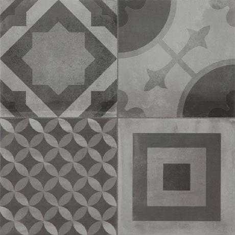 Almada Grey Rustic Floor Tile - 450 x 450mm