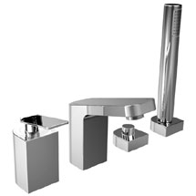 Bristan Alp 4 Hole Bath Shower Mixer Medium Image