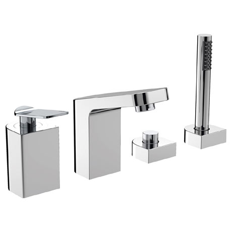 Bristan Alp 4 Hole Bath Shower Mixer