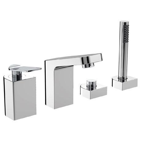 Bristan Alp 4 Hole Bath Shower Mixer