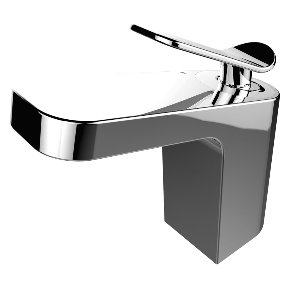 Bristan Alp Mono Basin Mixer with Clicker Waste Standard Large Image