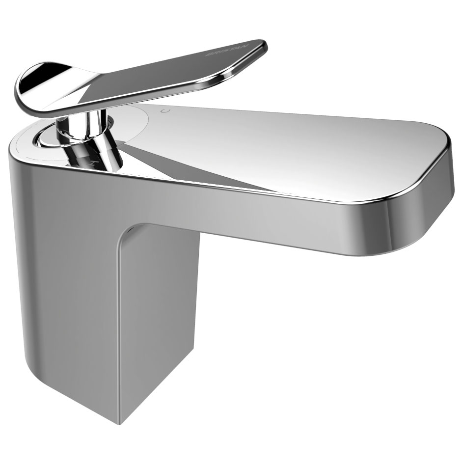 Bristan Alp Mono Basin Mixer with Clicker Waste Large Image
