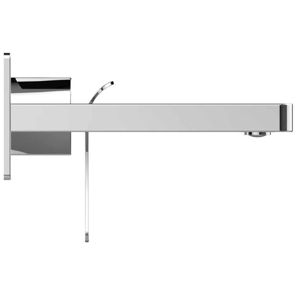Bristan Alp Wall Mounted Basin Mixer profile large image view 2