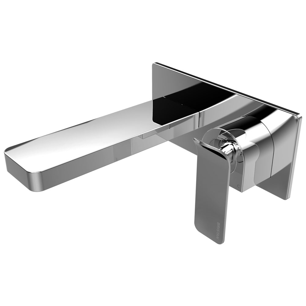 Bristan Alp Wall Mounted Basin Mixer profile large image view 1