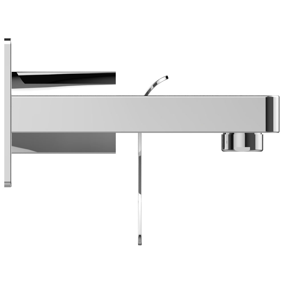 Bristan Alp Wall Mounted Bath Filler profile large image view 2