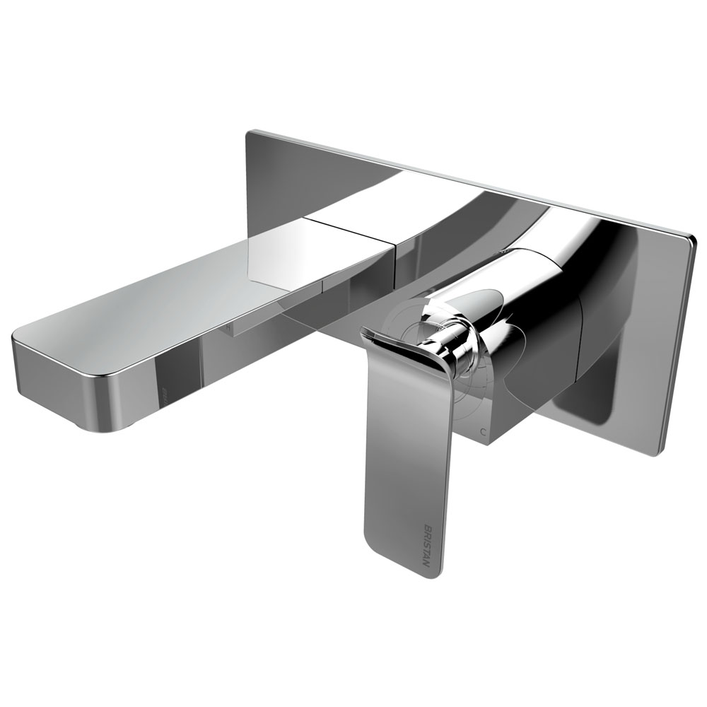 Bristan Alp Wall Mounted Bath Filler profile large image view 1