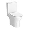 Alps Modern Short Projection Toilet + Soft Closing Seat profile small image view 1