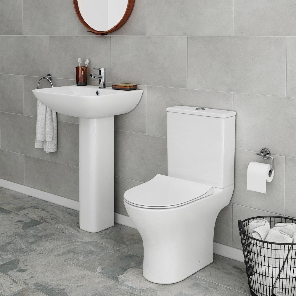 alps 4 piece modern bathroom suite victorian plumbing uk. Black Bedroom Furniture Sets. Home Design Ideas