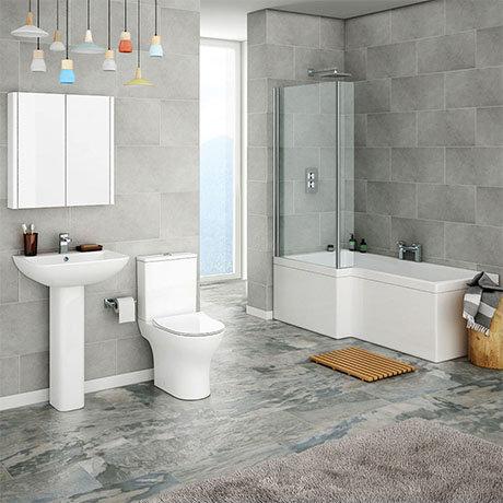 Alps Modern Shower Bath Suite