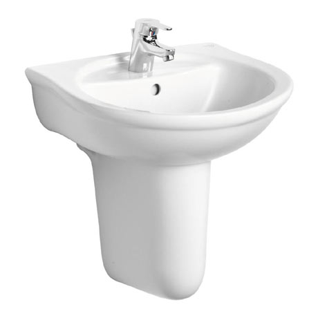 Ideal Standard Alto 1TH Basin & Semi Pedestal