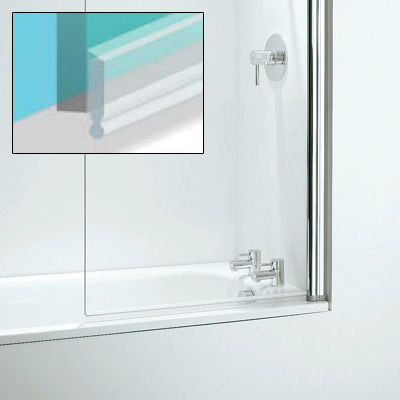 Croydex Bath Screen Seal Kit 1-8mm - Translucent - AM160332 Large Image