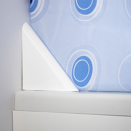 Croydex 125mm Magnetic Shower Curtain Clip