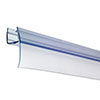 Croydex Rigid Bath Shower Screen Seal Replacement Wiper Seal - AM161332 profile small image view 1