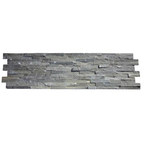 Amaro Grey Stone Cladding Panels - 400 x 100mm