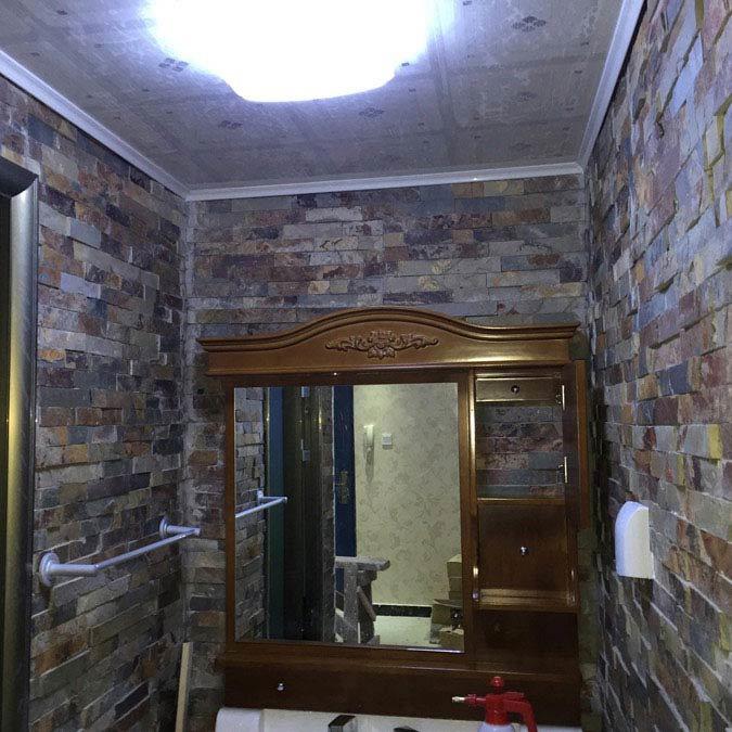 Amaro Rustic Slate Stone Cladding Panels - 400 x 100mm  Profile Large Image