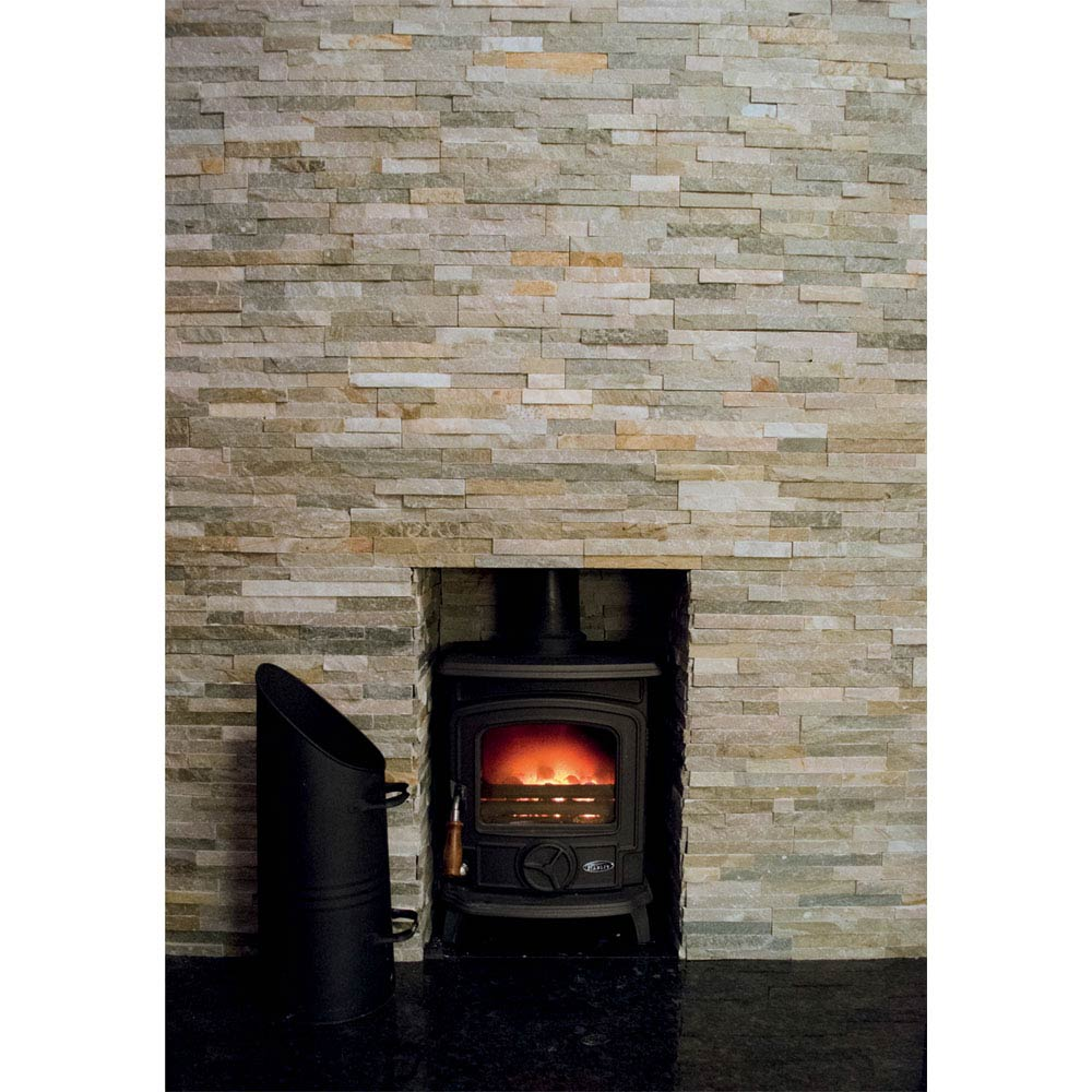 Amaro Stone Colour Stone Cladding Panels - 400 x 100mm  Profile Large Image