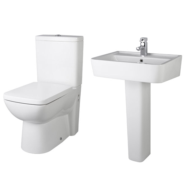 Premier - Ambrose 4 Piece Bathroom Suite profile large image view 2