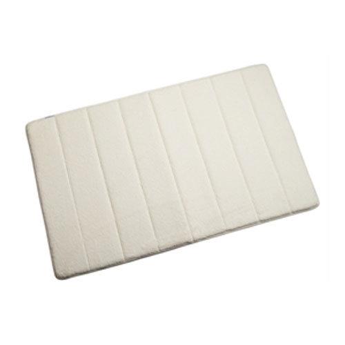 Croydex - Large Memory Foam Textile Bathroom Mat - 800 x 500mm - Various Colours Large Image