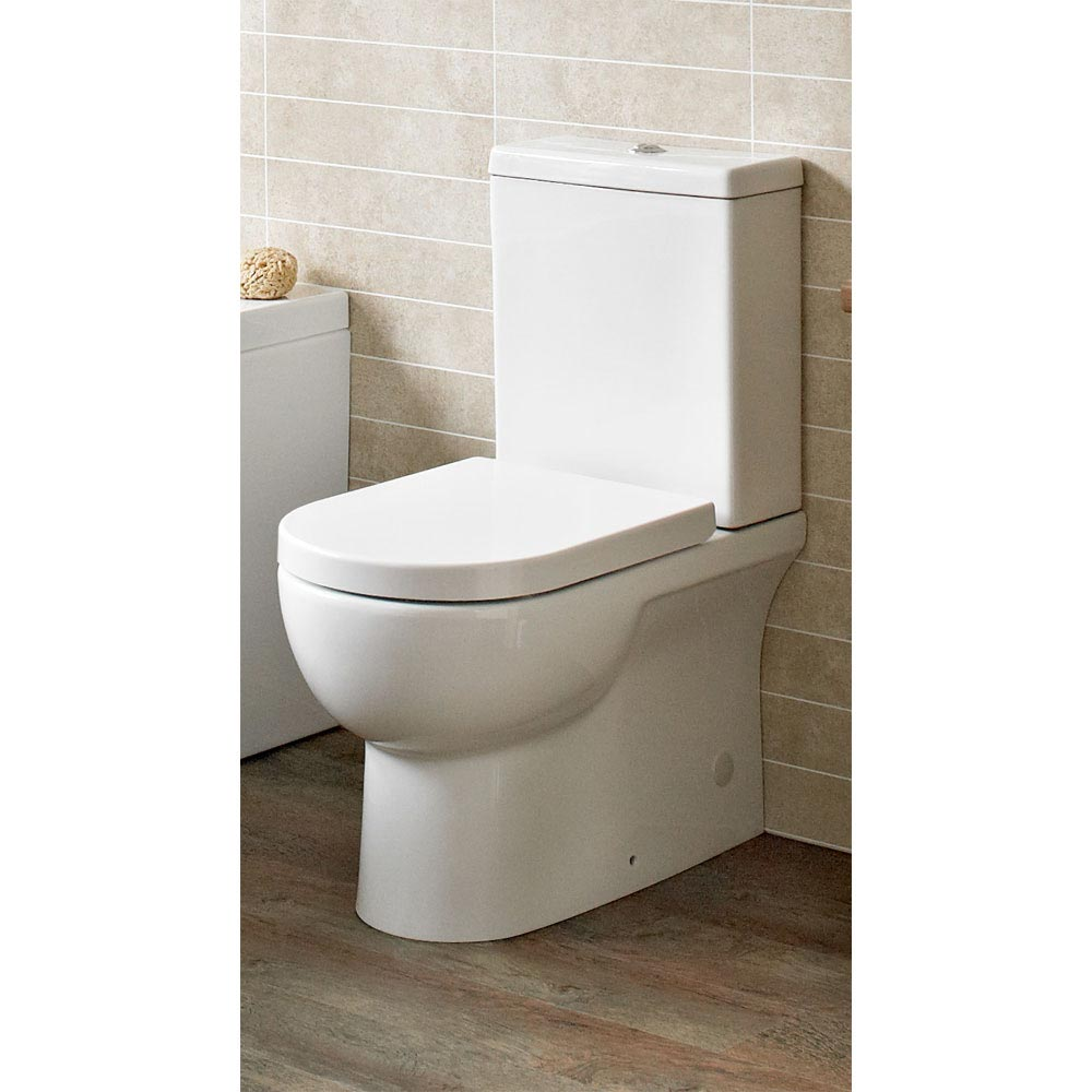 Tissino Angelo Close Coupled WC + Soft Close Seat profile large image view 2