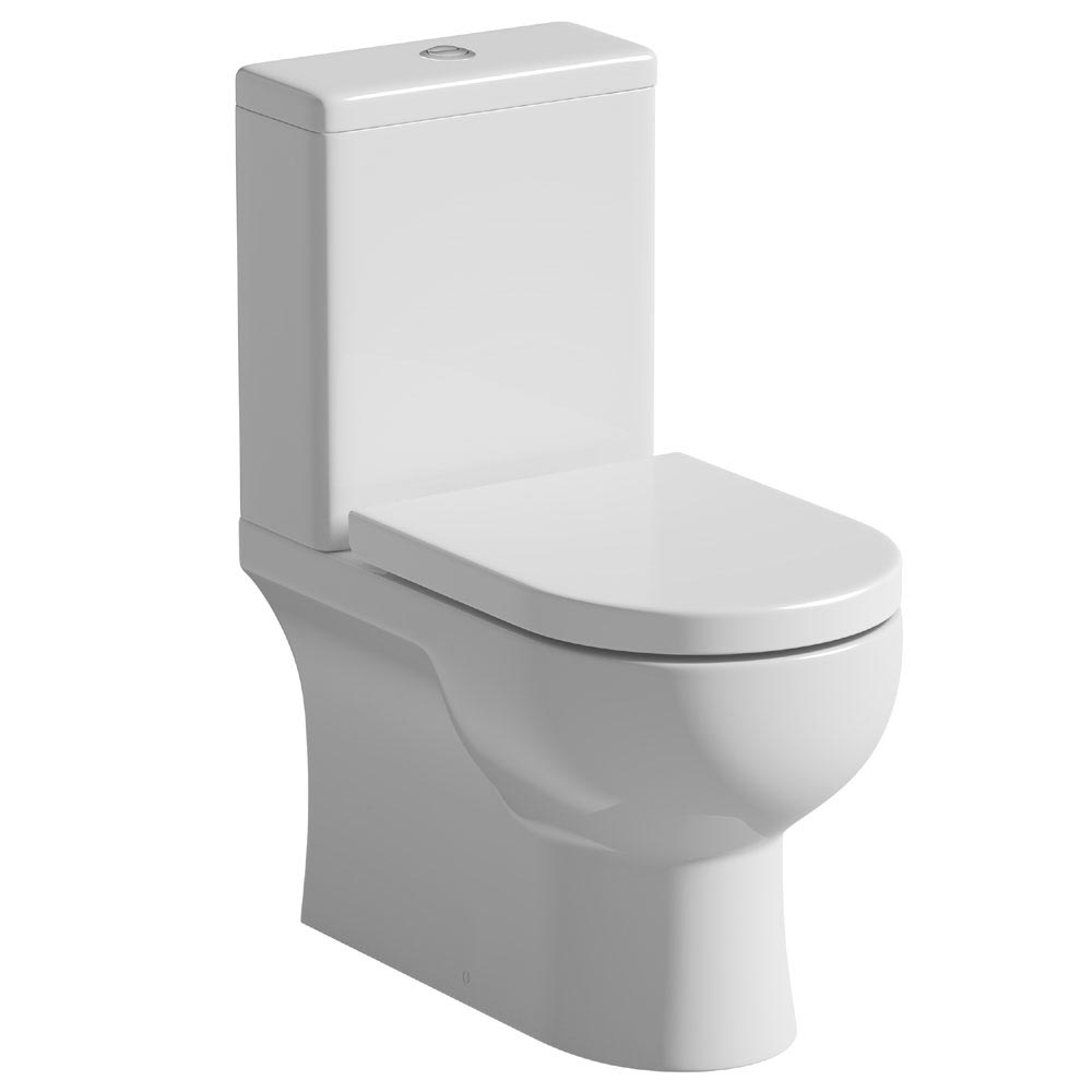Tissino Angelo Close Coupled WC + Soft Close Seat profile large image view 1