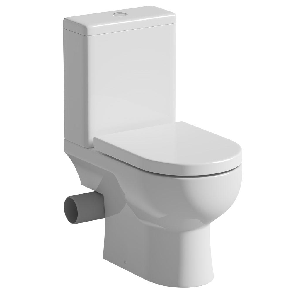 Tissino Angelo Close Coupled WC + Soft Close Seat (Left Hand Waste Exit) Large Image