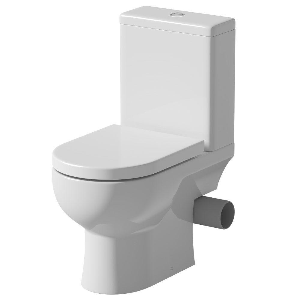 Tissino Angelo Close Coupled WC + Soft Close Seat (Right Hand Waste Exit) Large Image