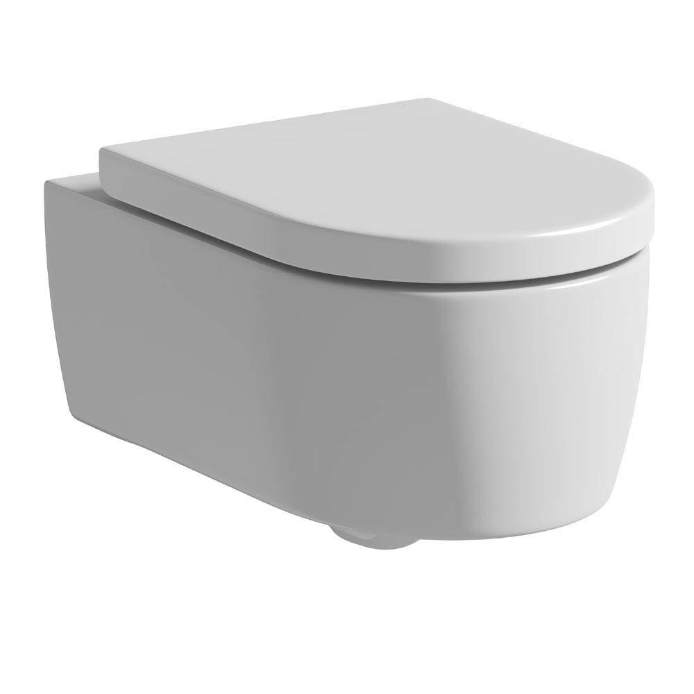 Tissino Angelo Wall Hung Pan + Soft Close Seat Large Image