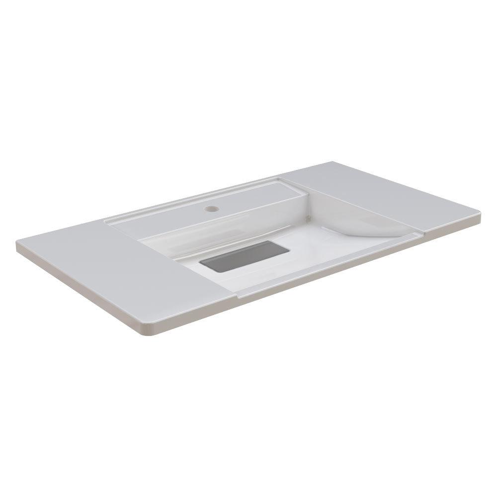 Franke Exos ANMW0011 900mm Washbasin with Single Taphole