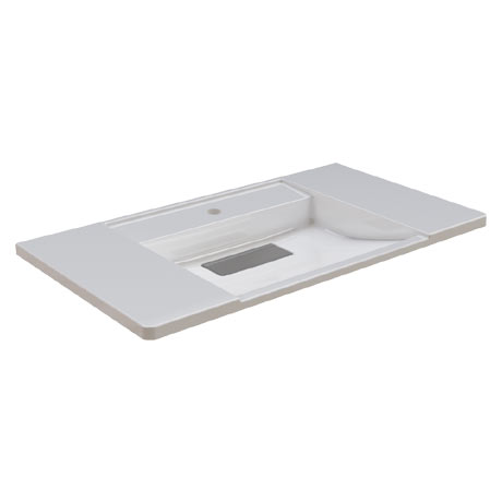 Franke Exos ANMW0011 900mm Washbasin with Single Taphole