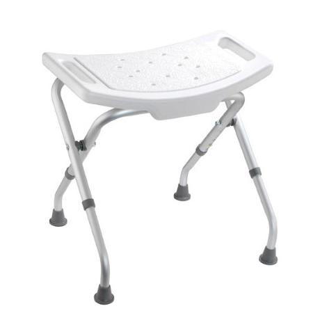 Croydex White Adjustable Bathroom & Shower Seat - AP100122