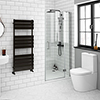Apollo 700mm Frameless Hinged Shower Door profile small image view 1