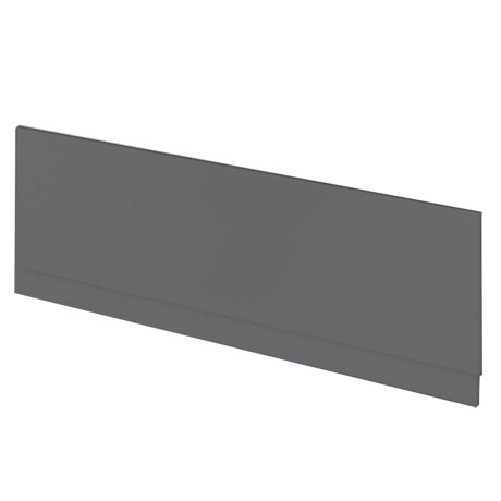 Apollo2 Gloss Grey 1700 Front Straight Bath Panel